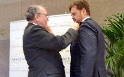 Uproof Biomechanics recibe la Medalla Europea al mérito en el Trabajo de la AEDEEC